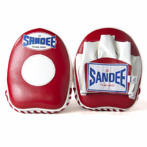 Sandee Mini Focus Mitts - Red